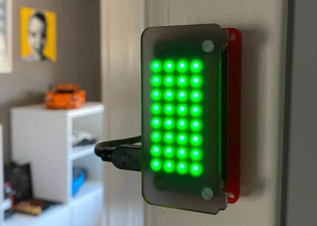 DIY Busy Light: Mit dieser Lampe stört euch niemand im Home Office