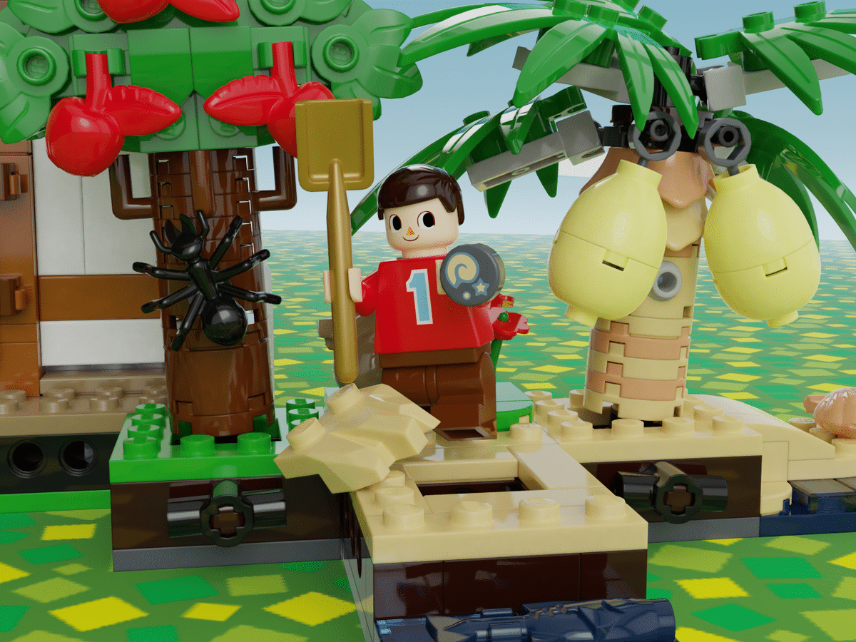 LEGO trifft auf Animal Crossing. (Foto: LEGO Ideas)