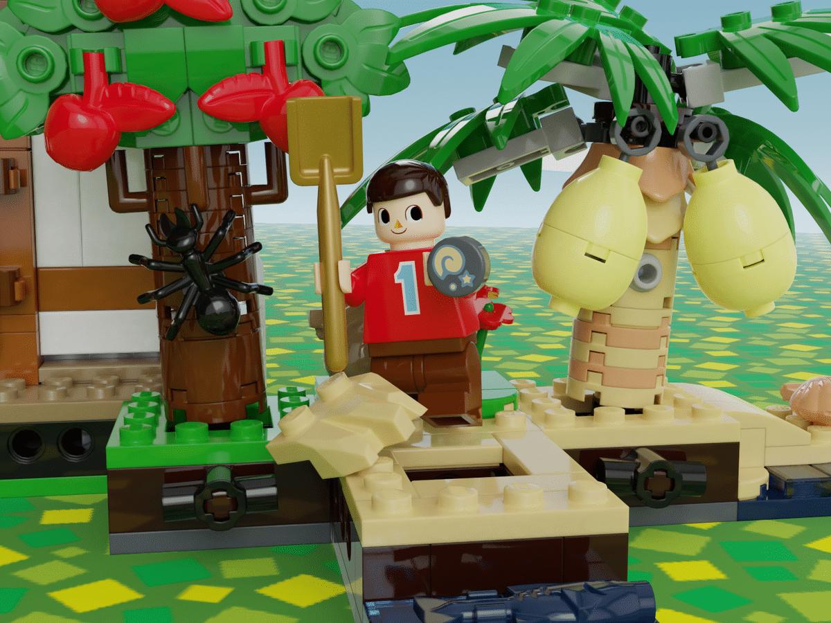 LEGO trifft auf Animal Crossing. (Foto: LEGO Ideas)