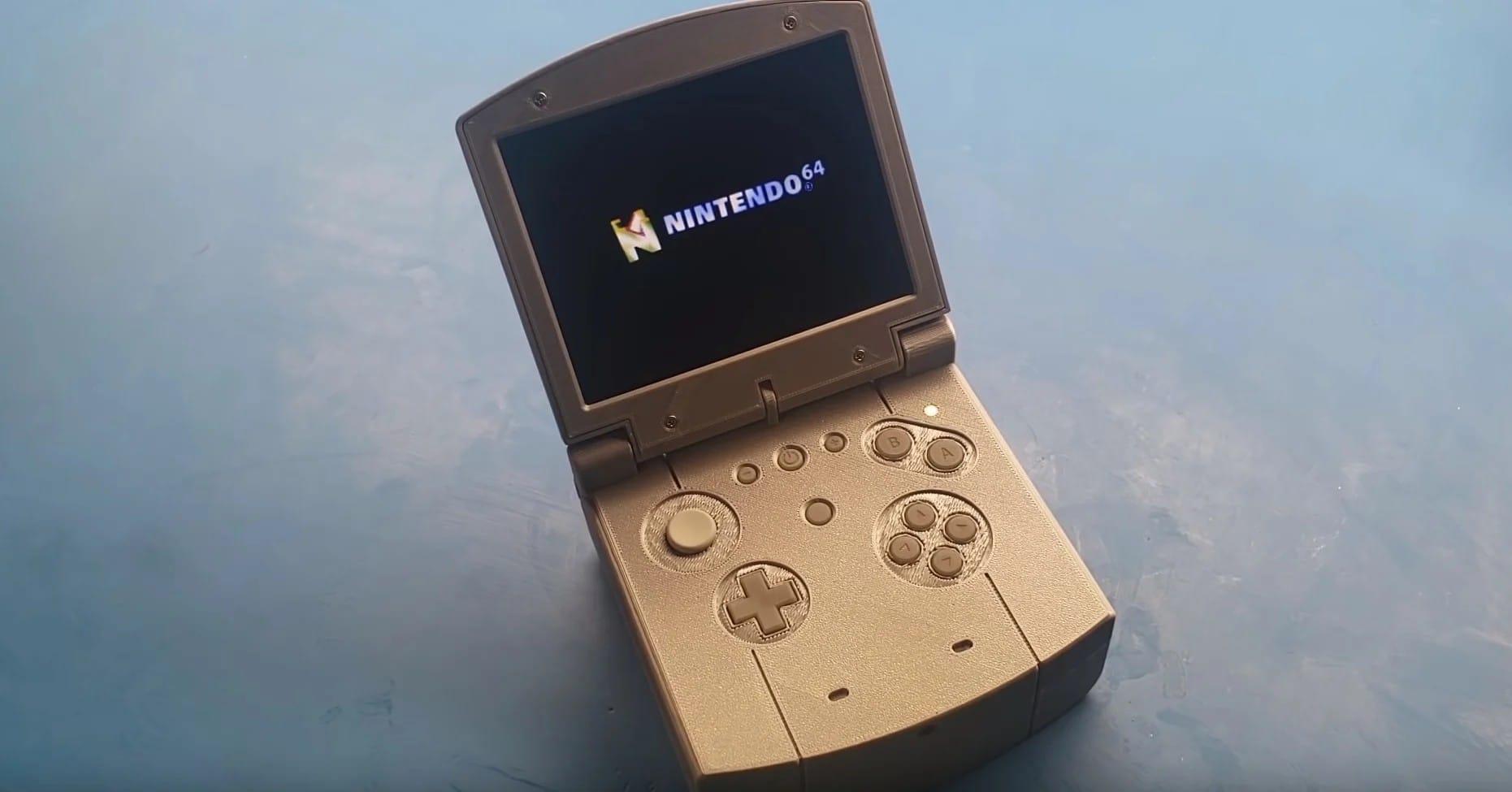 N64 SP: Nintendo 64 Mini als Handheld-Konsole