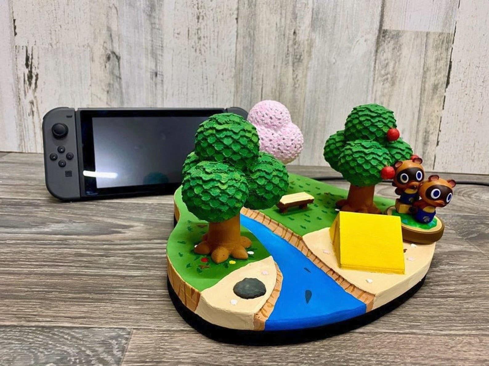 Animal Crossing: New Horizons: Verschönert eure Switch-Dockingstation