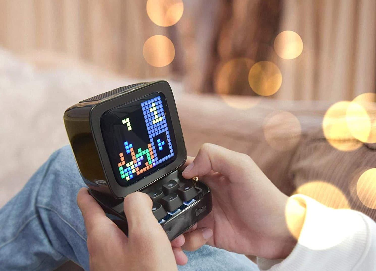 Tetris ist natürlich mit dabei. (Foto: Divoom)