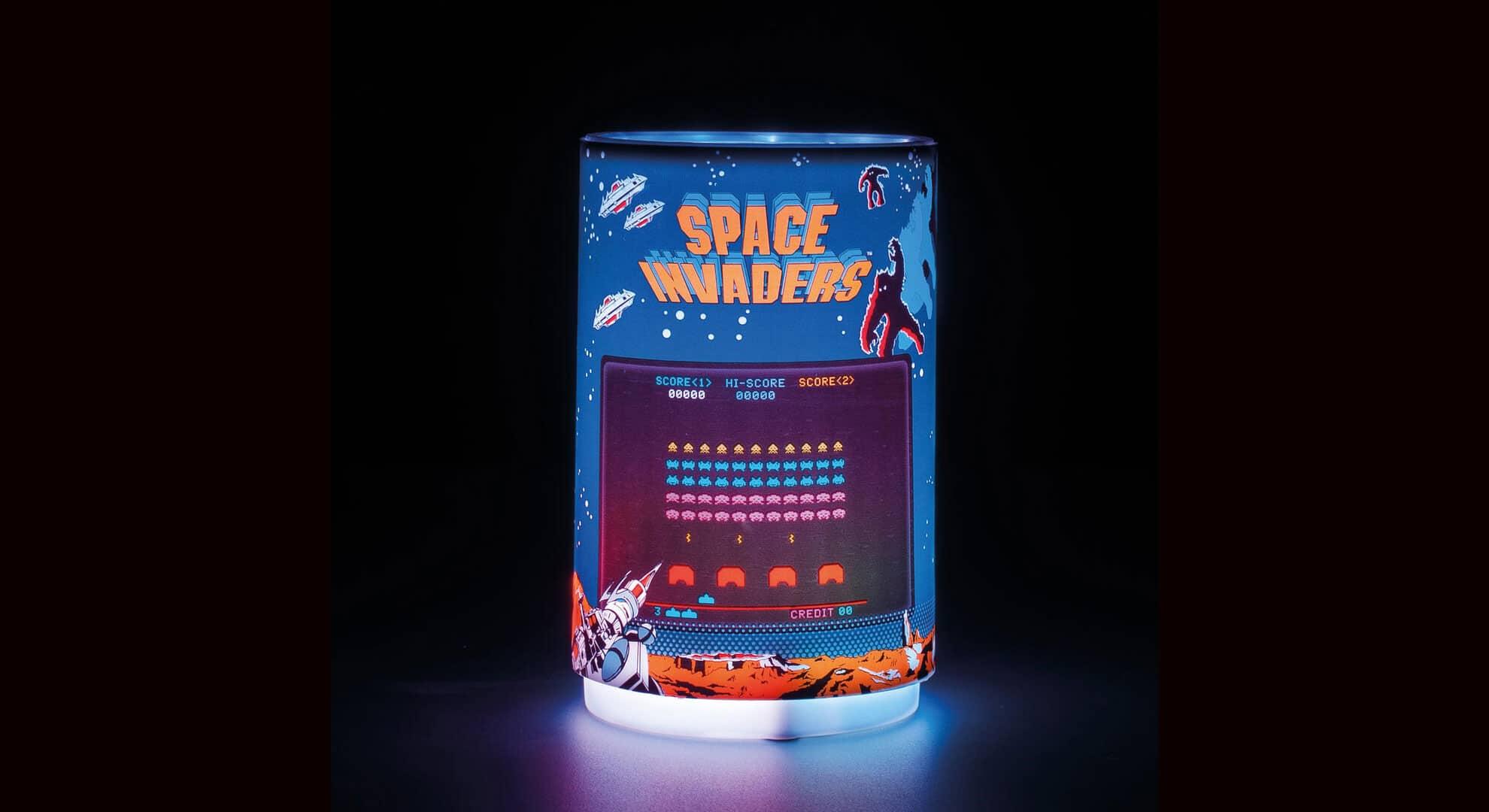 Space Invaders: Diese Lampe bringt Pixel-Aliens an eure Decke