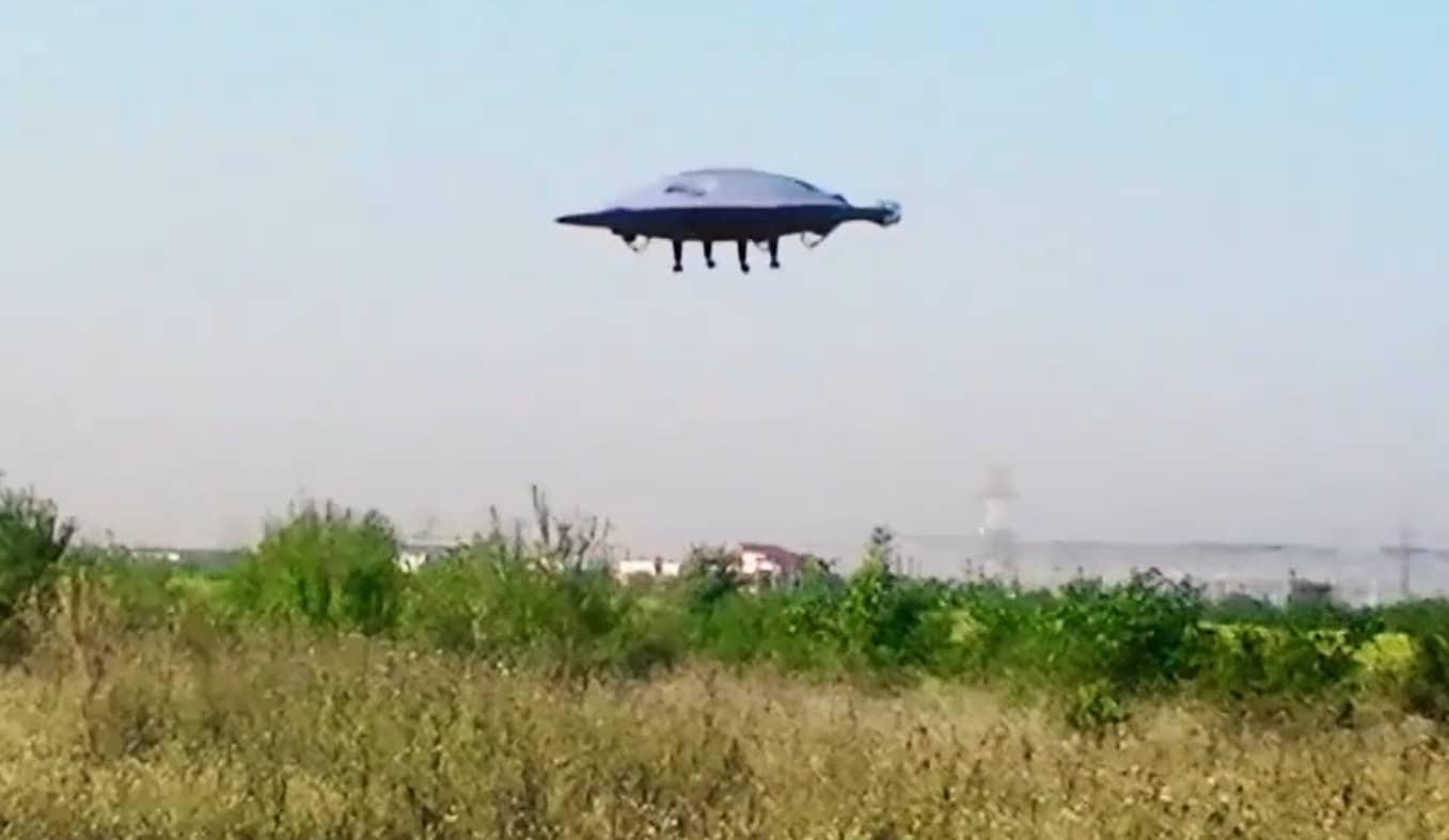 ADIFO: Die fliegende Untertasse wird Realität!