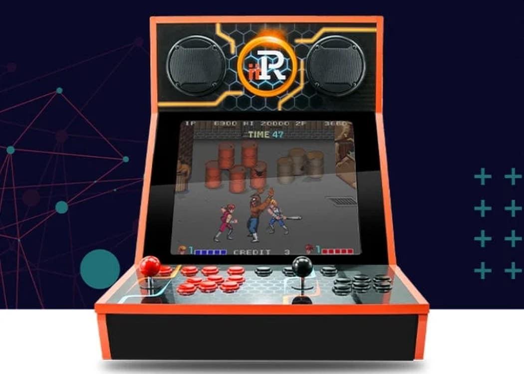 iiRcade: Arcade-Automat mit über 200 Spielen