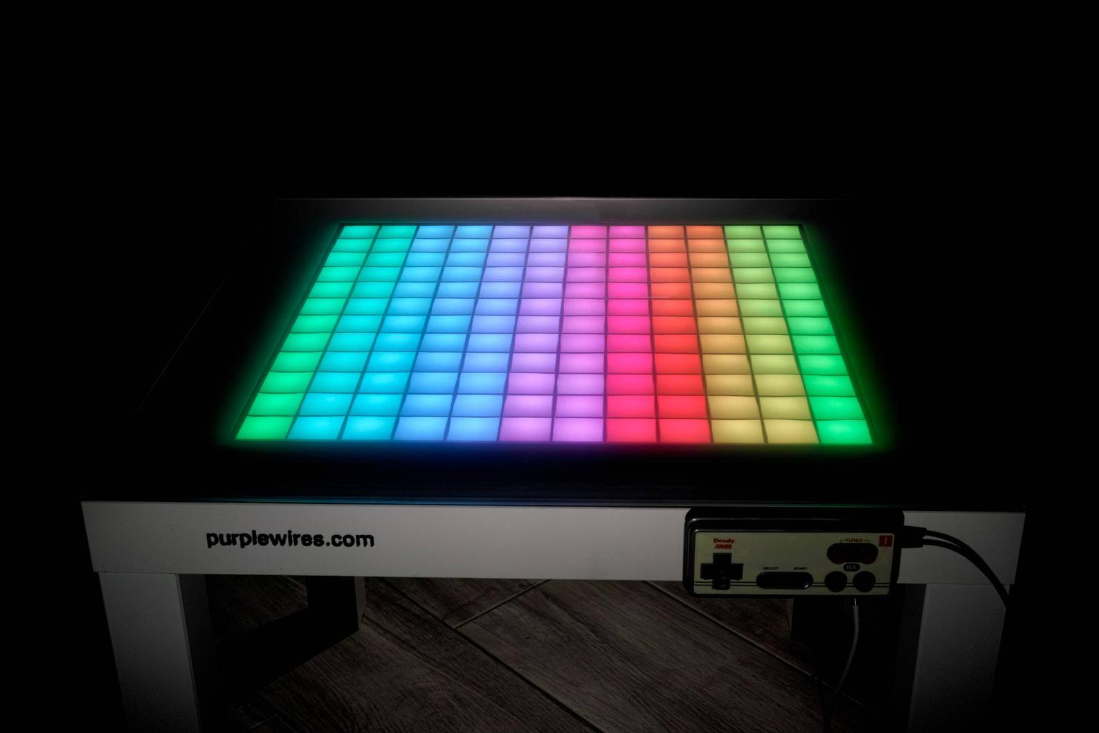 Retro Games Table: Spielt Tetris auf diesem Tisch