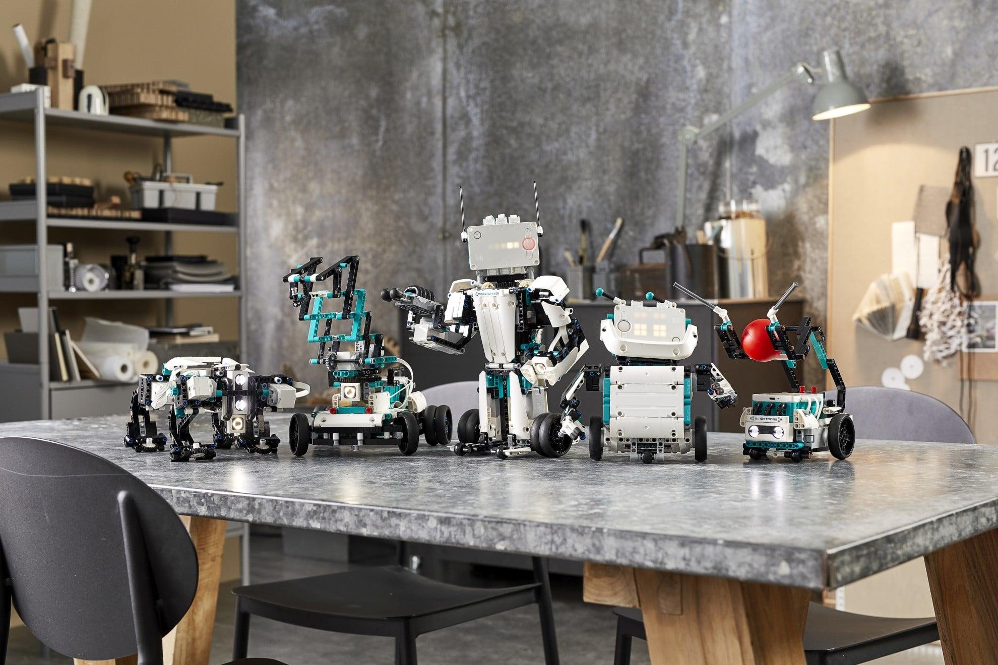 Baut euch eine Roboter-Armee - mit dem Mindstorms Robot Invention. (Foto: LEGO)