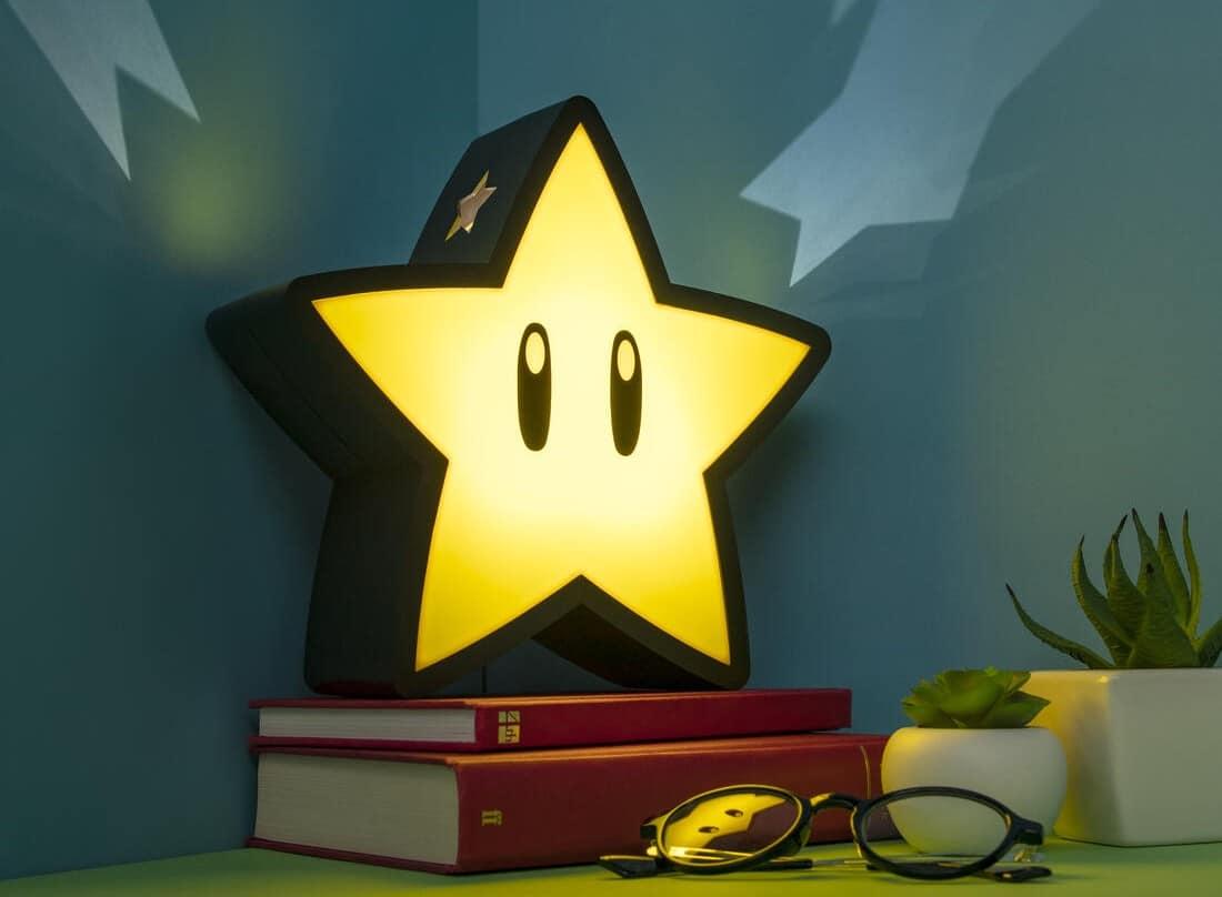 Super Mario Sternenlampe: Bringt Licht in eure Wohnung