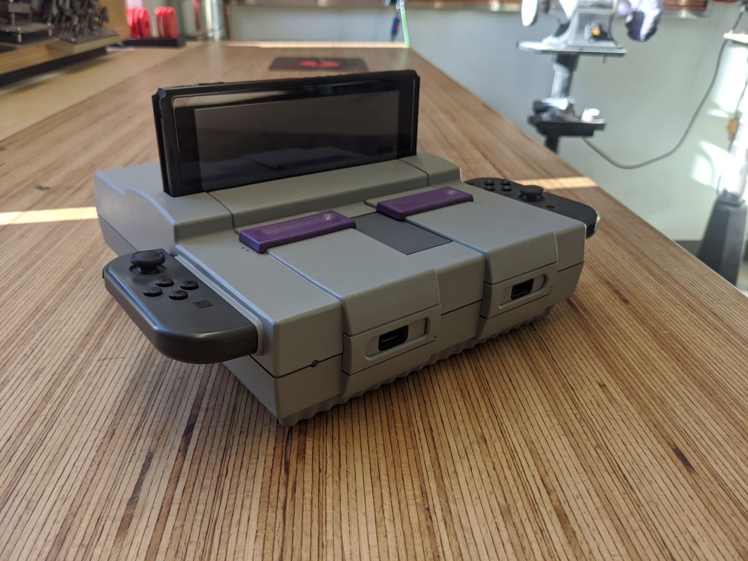 Erstaunlich, was man aus einer alten SNES-Konsole machen kann. (Foto: IMGUR)