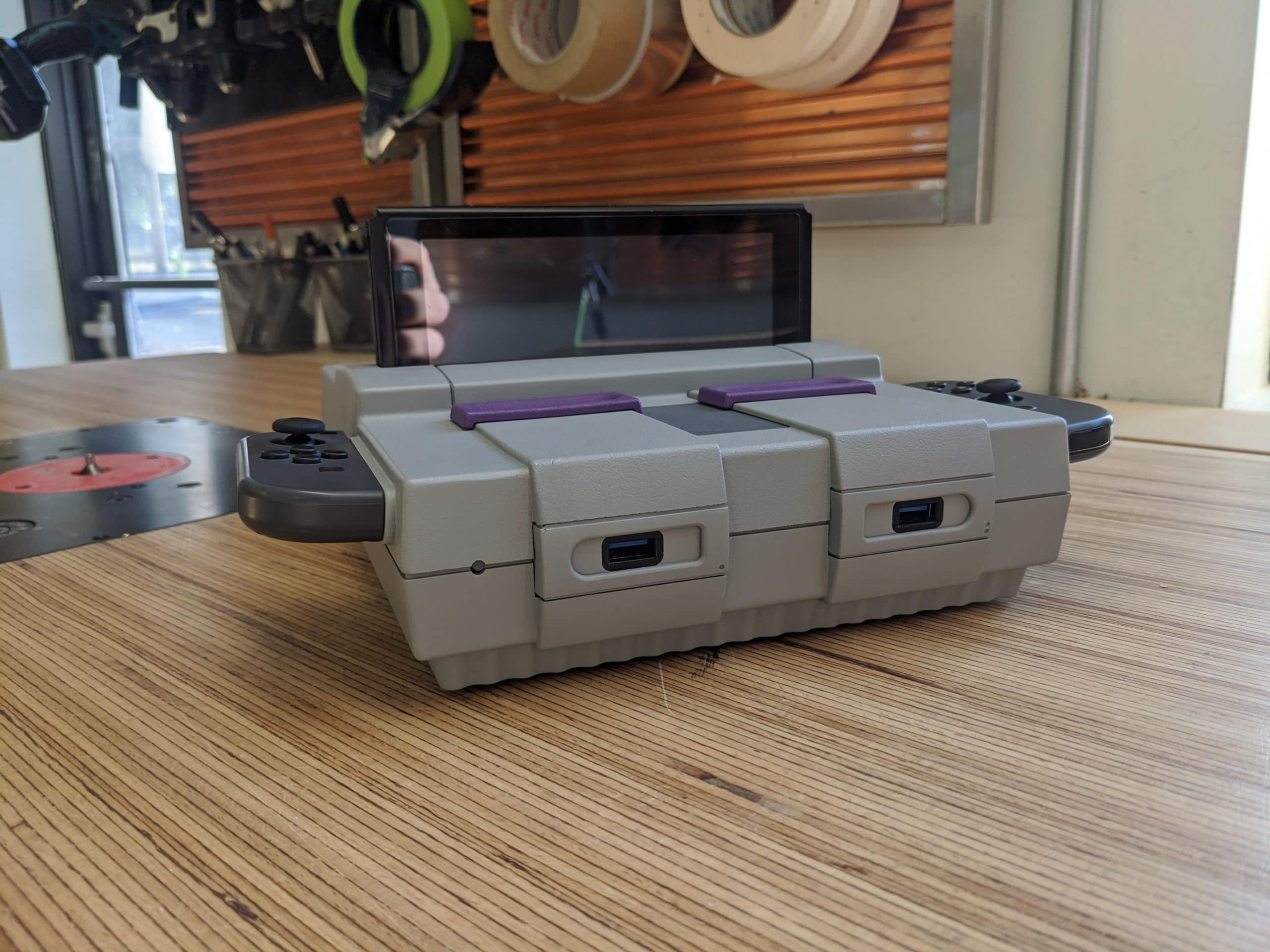 SNES Switch Dock: Aus alter Konsole wird Dockingstation