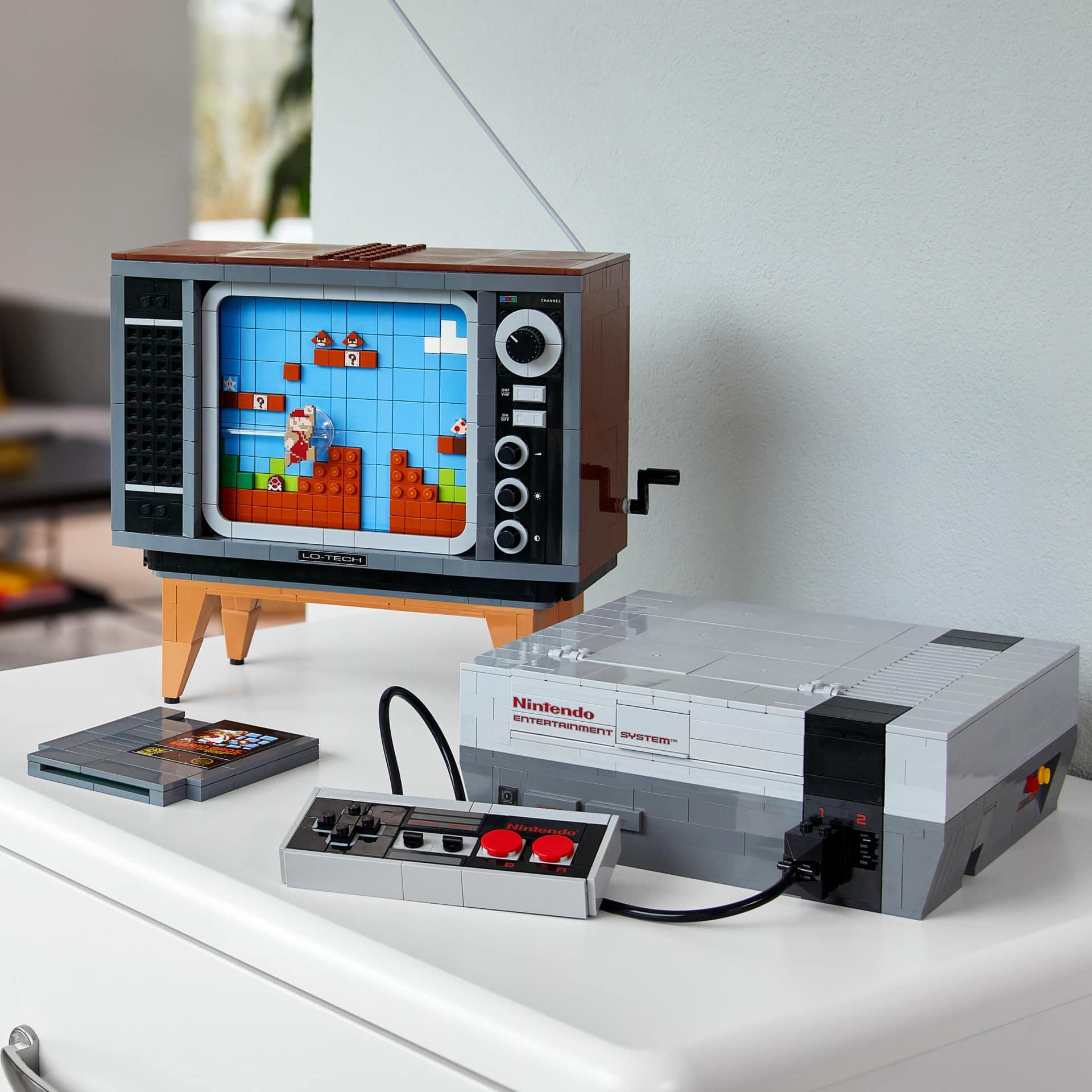 LEGO Nintendo Entertainment System: Bauklotz-Konsole zum Luxuspreis