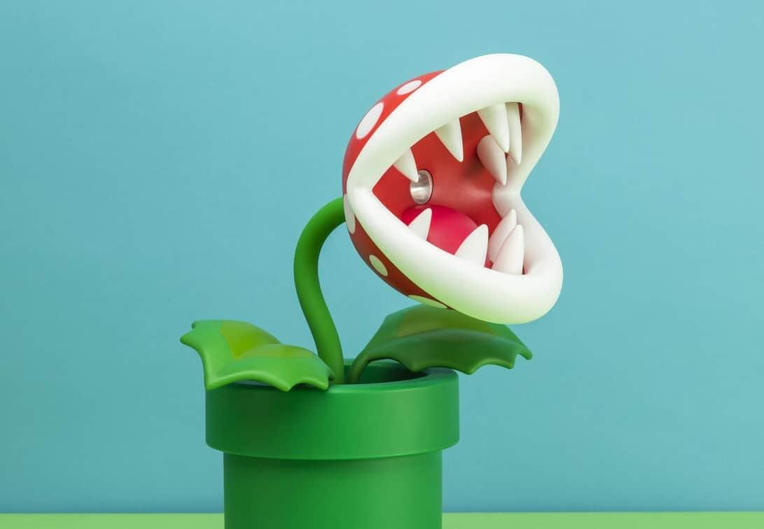 Piranha-Pflanzen-Lampe: Bringt Licht auf euren Schreibtisch