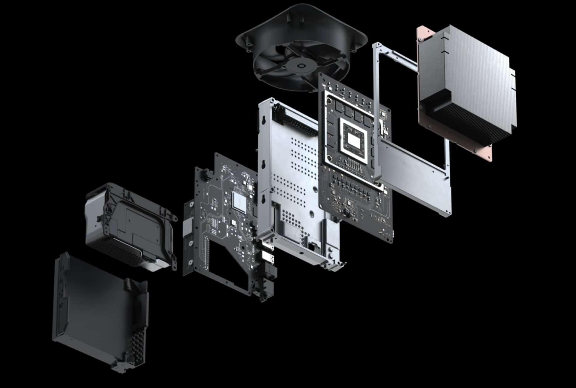 Die Hardware der Xbox Series X ist leistungsfähiger. Die SSD der PlayStation 5 ist dagegen schneller. (Foto: Microsoft)