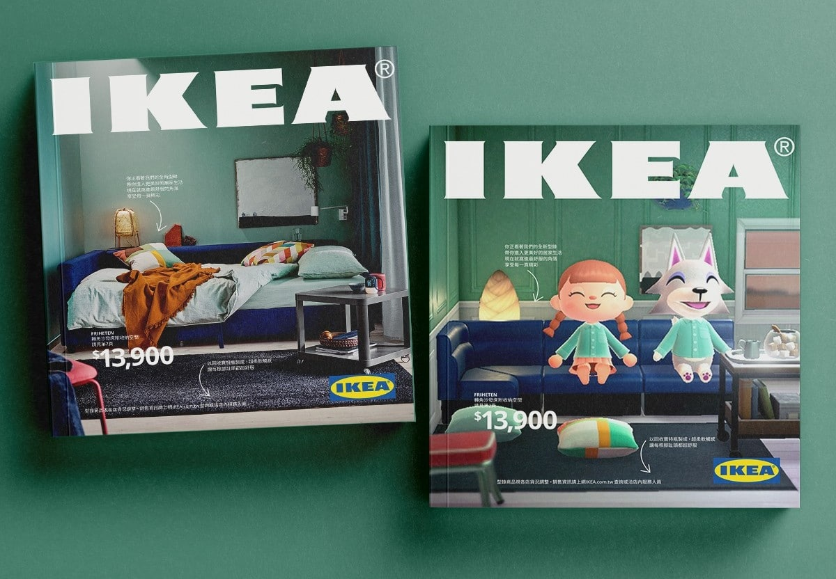 Animal Crossing New Horizons als IKEA-Katalog? (Foto: IKEA)
