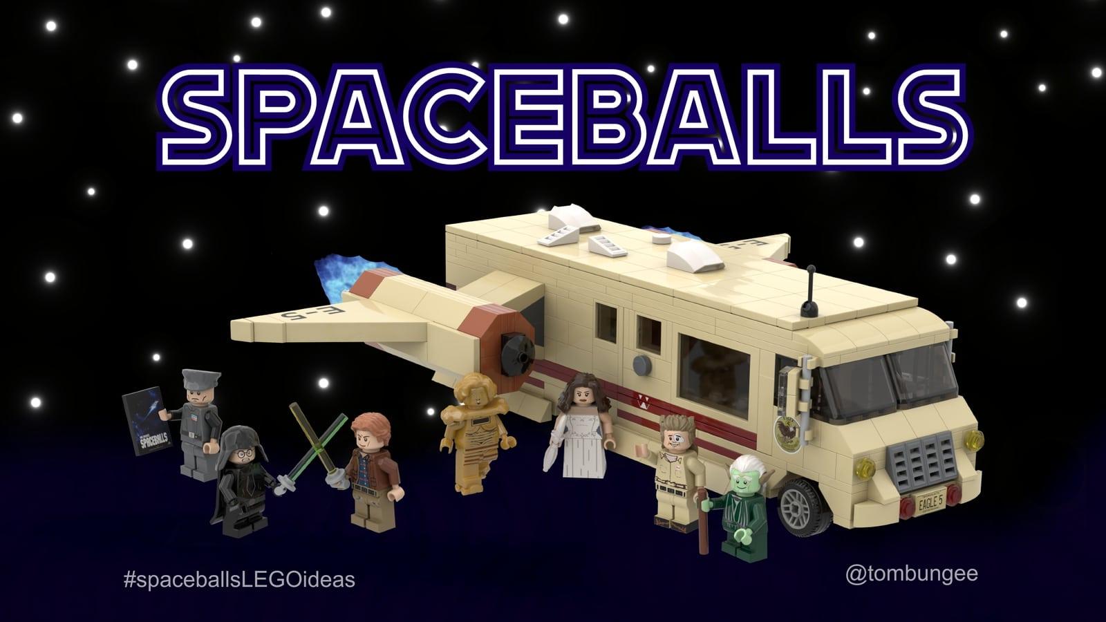Würdet ihr LEGO Spaceballs kaufen? (Foto: LEGO Ideas)