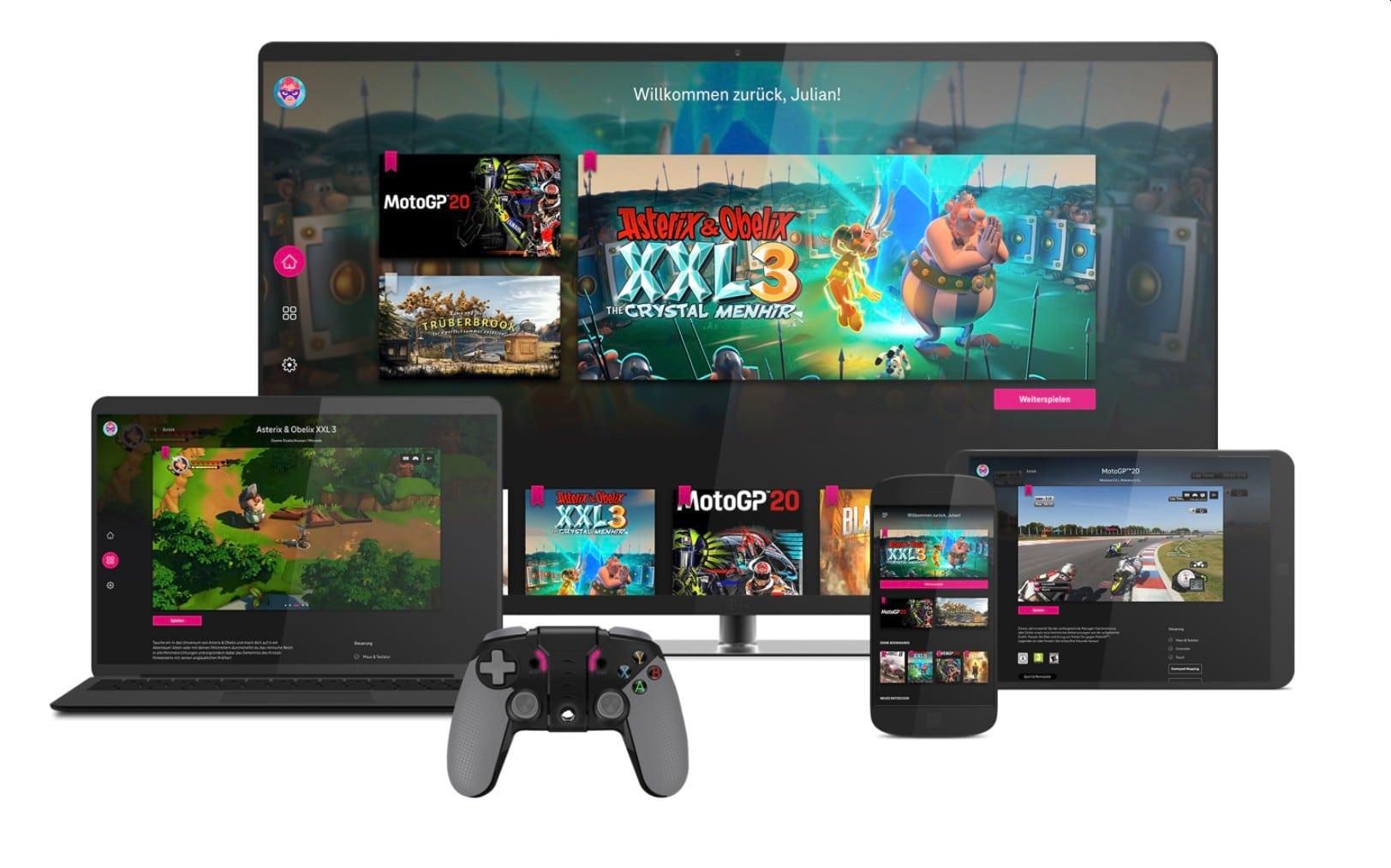 Telekom MagentaGaming: Über 100 Spiele kostenlos streamen