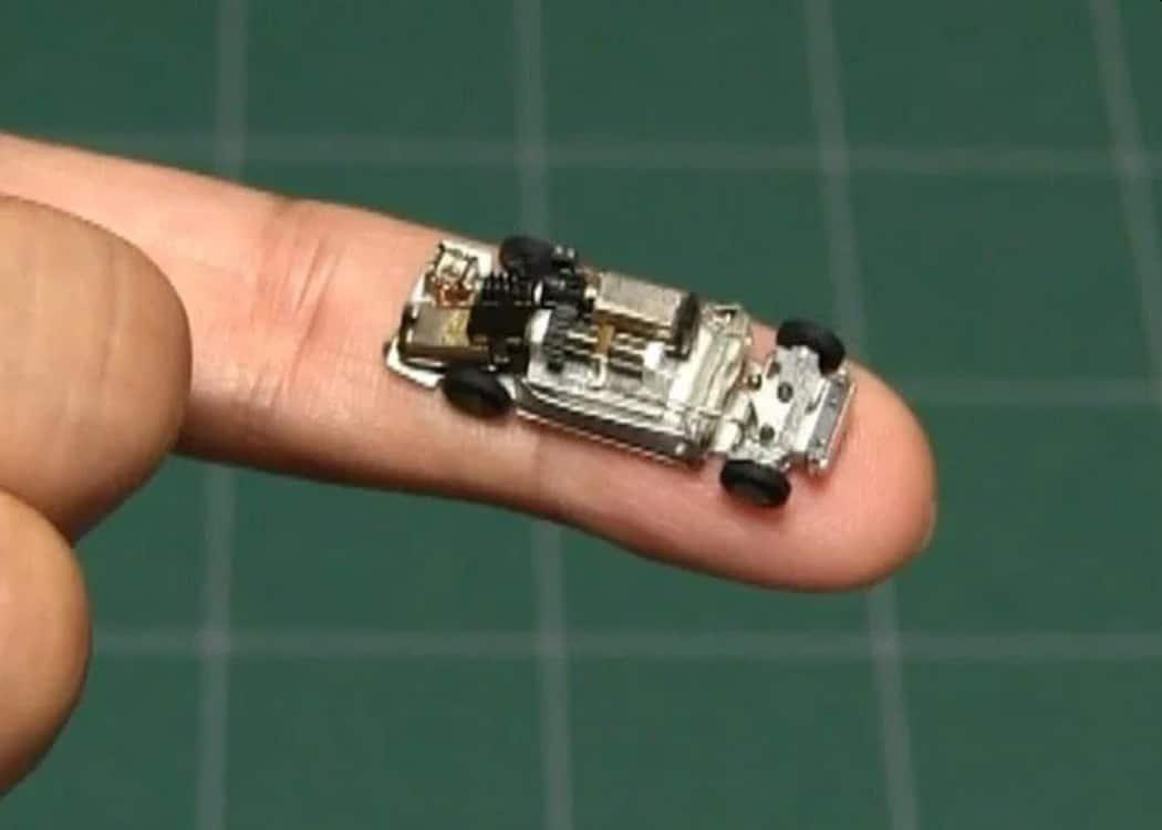 DIY Micro Car: Das wohl kleinste ferngesteuerte Auto