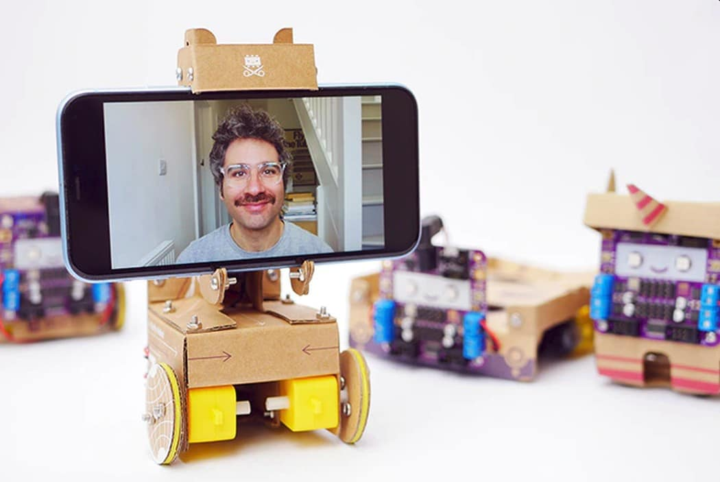 Smartipresence ist ein ungewöhnlicher Roboter. (Foto: Smartipresence)