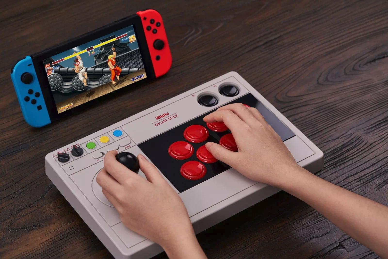 8Bitdo Arcade Stick: Flexibler Controller für PC und Nintendo Switch