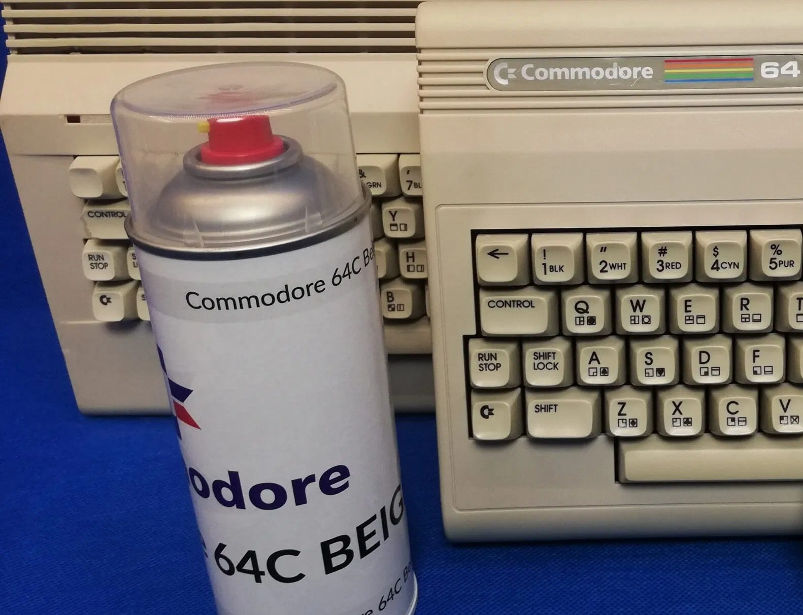 Retro Sprühfarbe: Macht eure alten Computer wieder schick