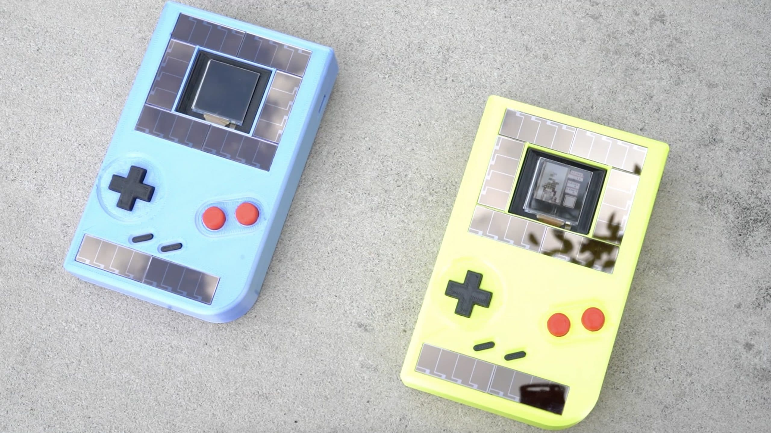 Nicht schön, aber diese Gameboys benötigen keine Batterien. (Foto: Northwestern University)