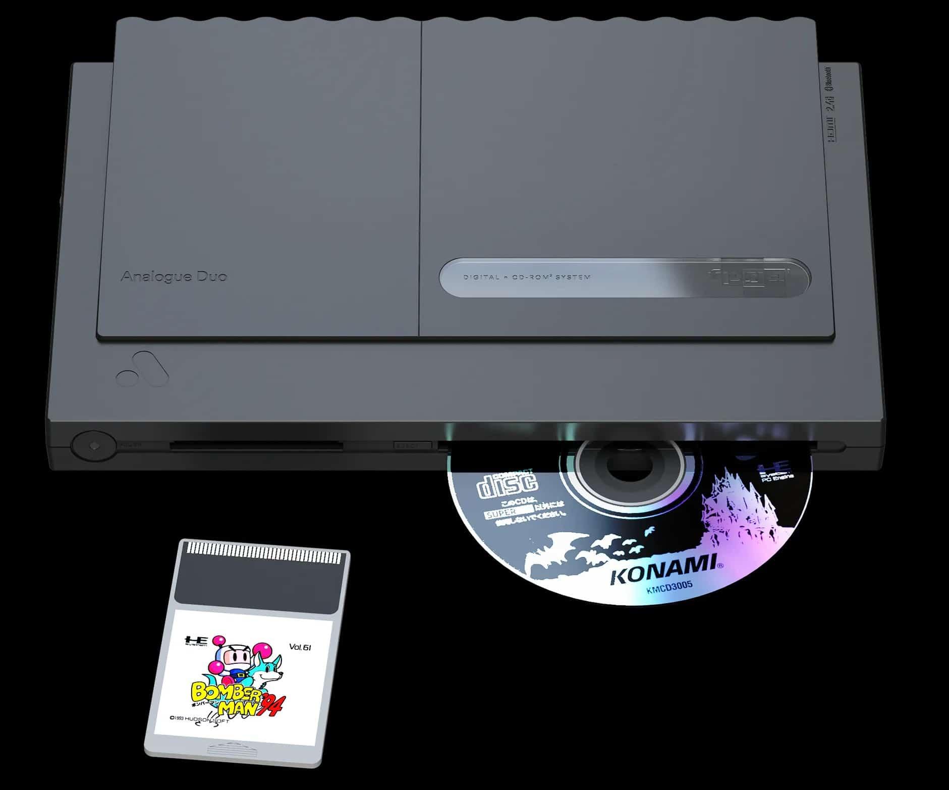 Sie schluckt alte Module und CD-ROMs. (Foto: Analogue)