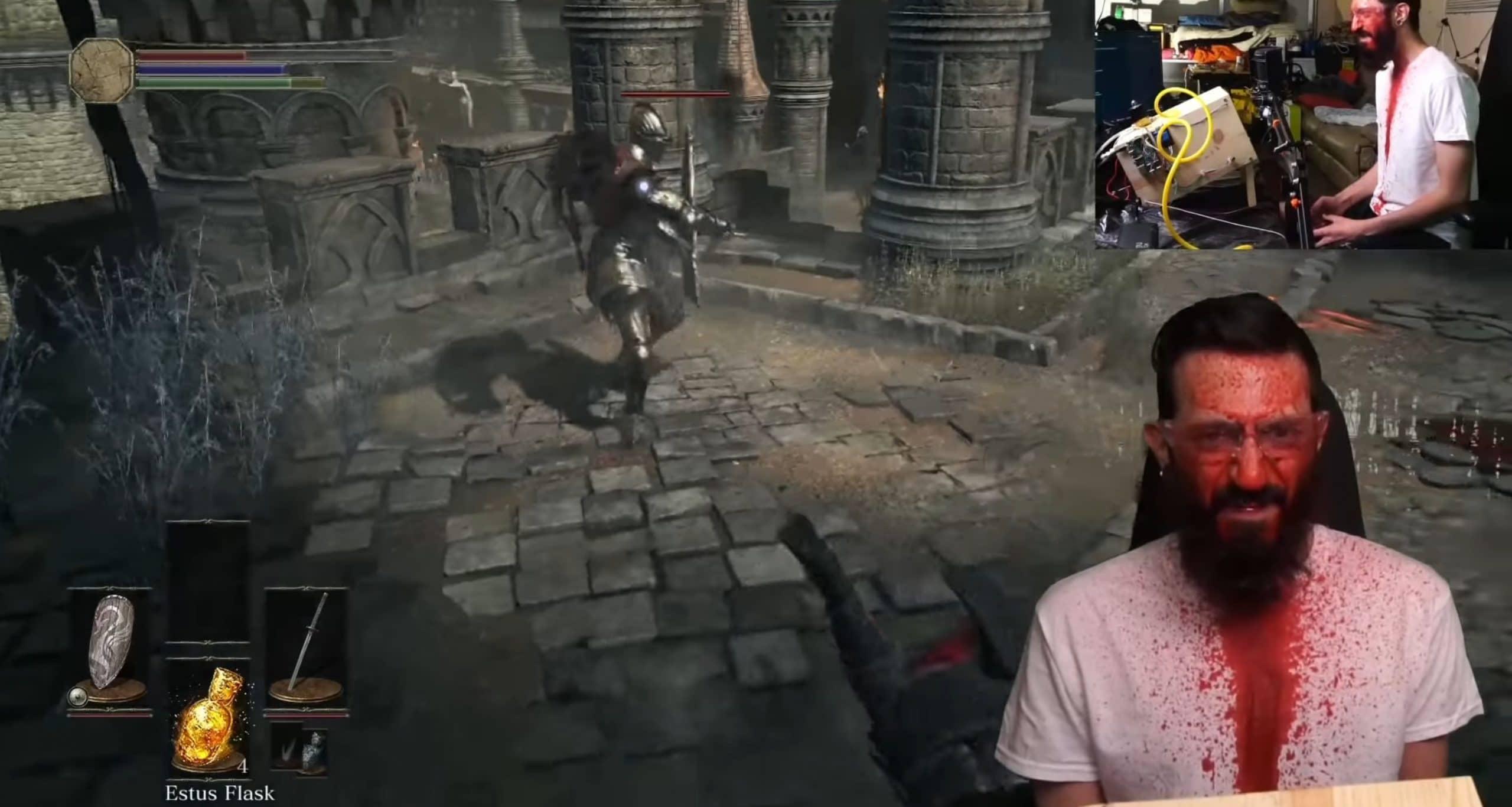 Dark Souls 3: Diese Kanone bespritzt euch beim Spielen mit Blut