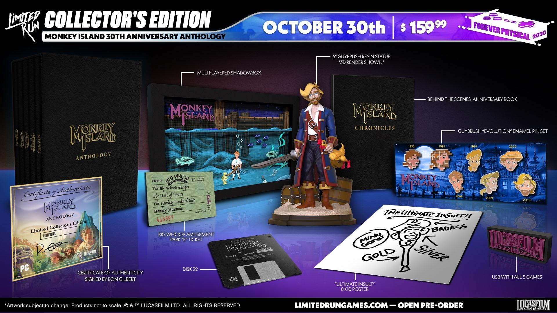 Eine prall gefüllte Anniversary Edition. (Foto: Limited Run Games)