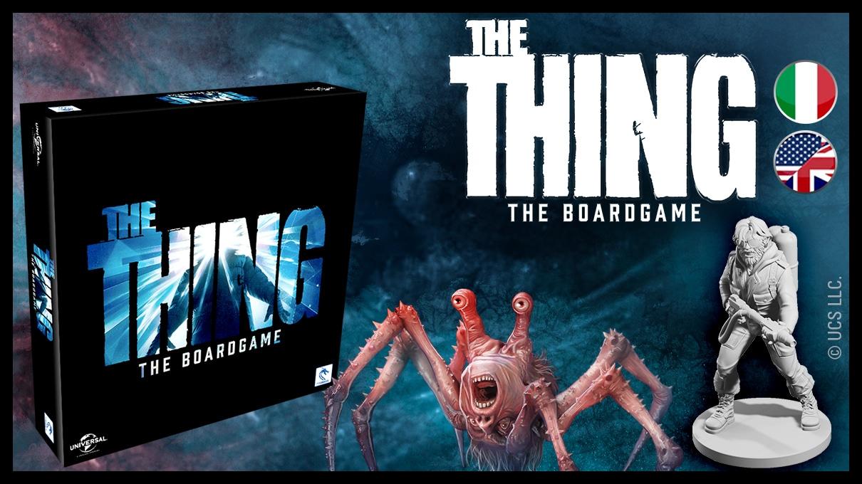 The Thing: Brettspiel zum Horror-Klassiker