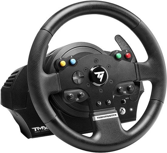 thrustmaster tmc force feedback lenkrad test