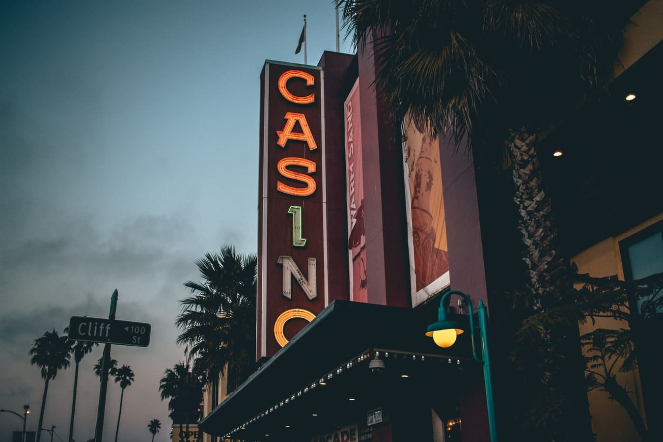 Casino Leuchtreklame