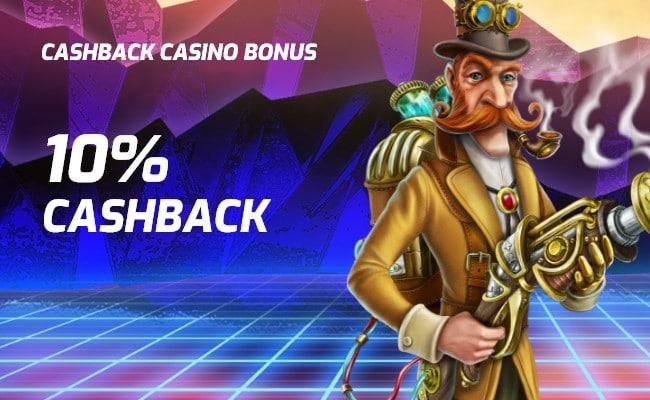 cyber 3077 10% cashback bonus