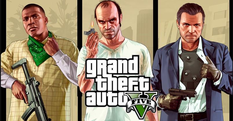 GTA 5 Titelbild