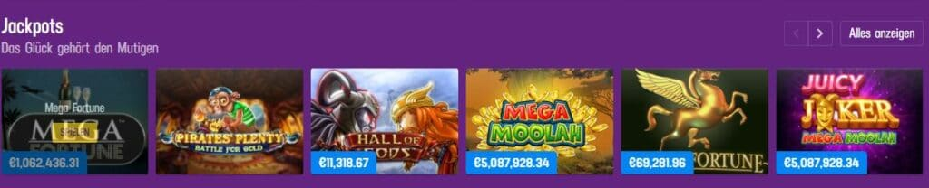 Lucky Casino Jackpots