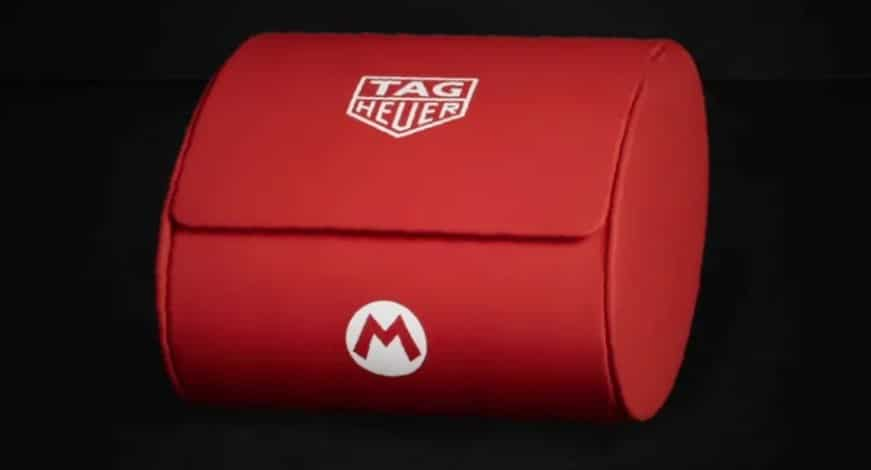 Nintendo Tag heuer super mario uhr