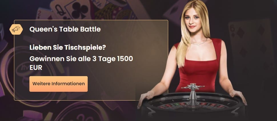 National Casino Queens Table Battle