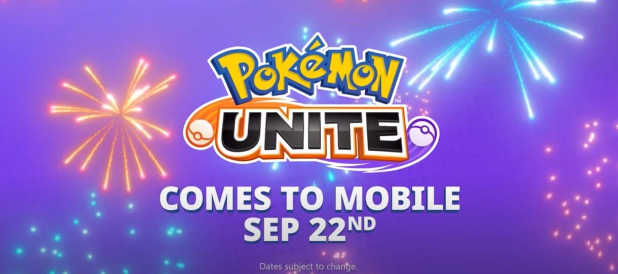 pokemon unite ios android