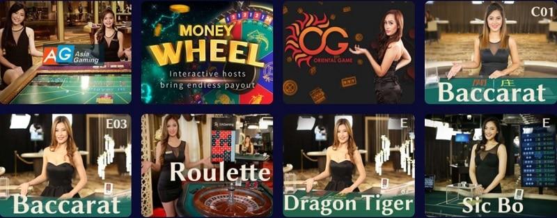 Cosmic Slot Live Casino