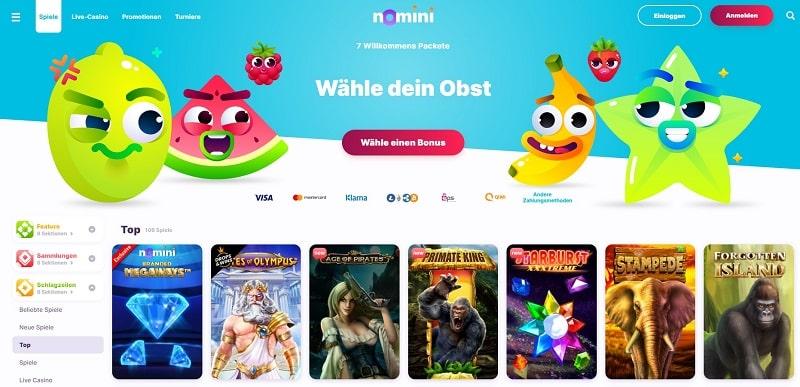 Nomini Website