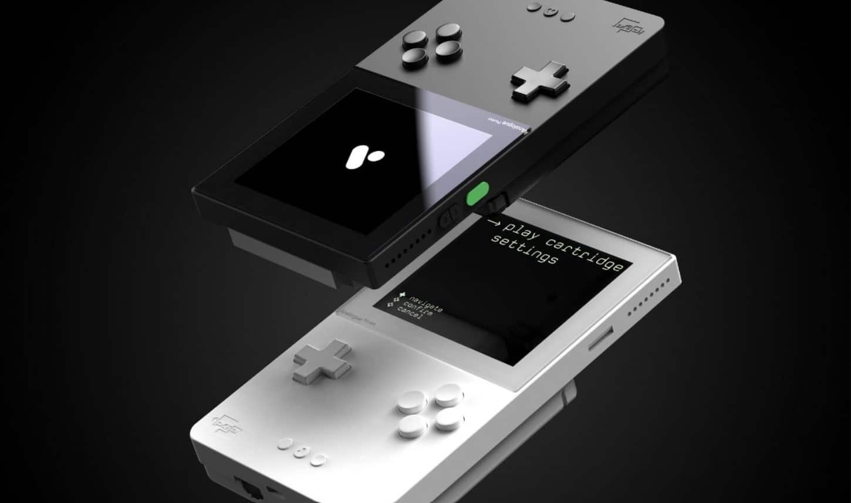 analogue pocket schwarz weiß