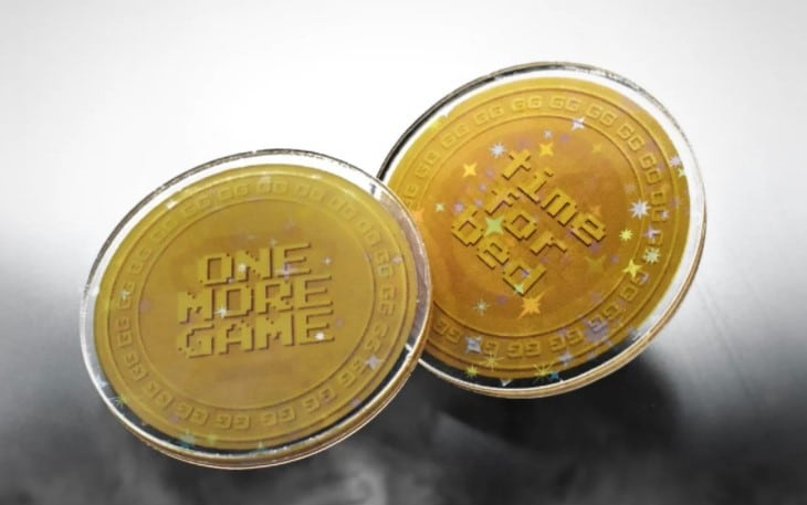 destiny flip münze