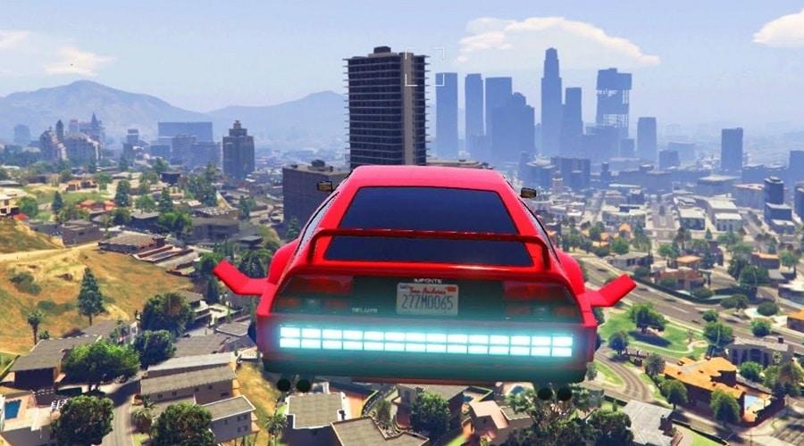 gta online glitch fliegende autos