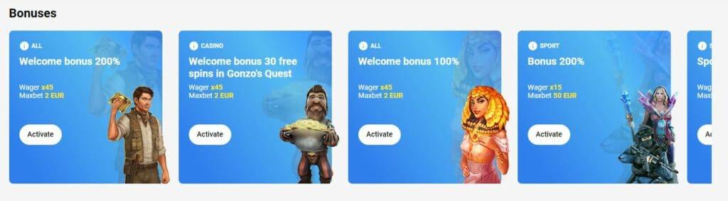Slottica Bonusangebot