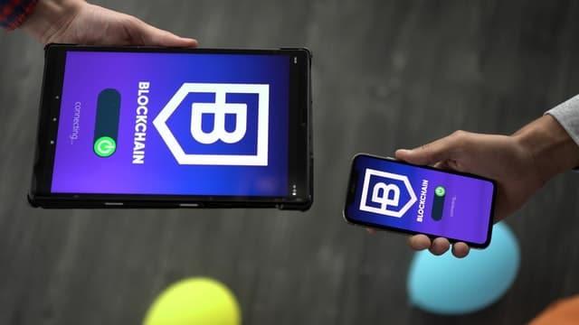 blockchain gaming app