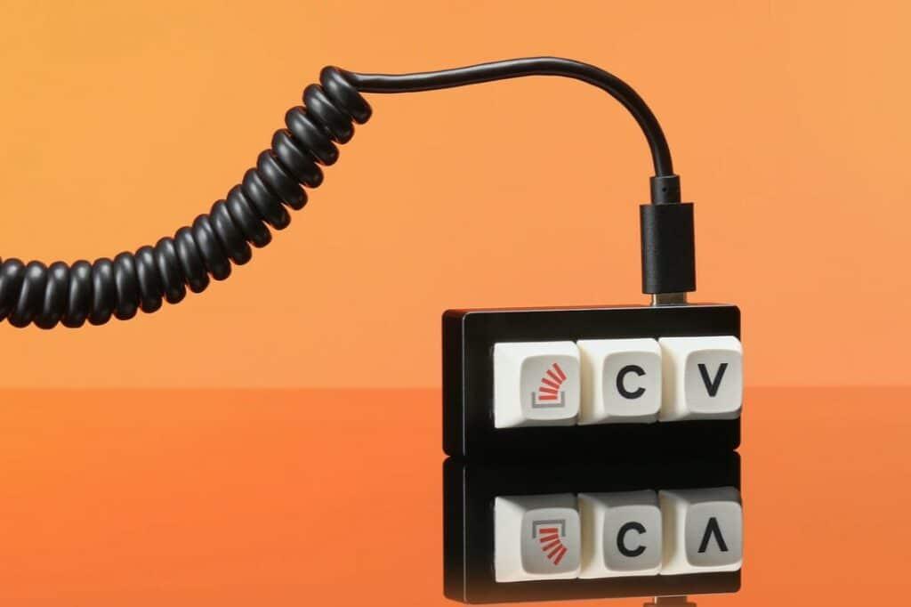 key macropad am kabel